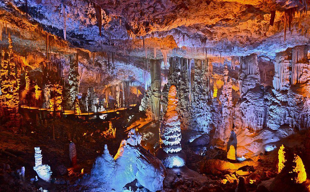 Avshalom Cave, Soreq Cave,Stalactites Cave, Israel