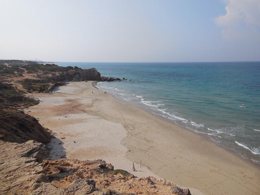 Chinese Bay Hadera Beach Israel