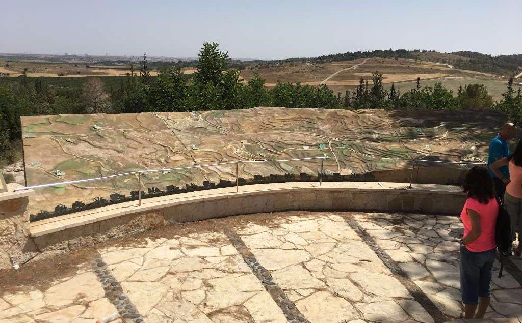 Harel lookout - The Burma Road Israel