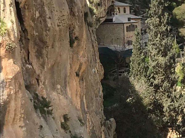 Faran monastery in Wadi Qelt