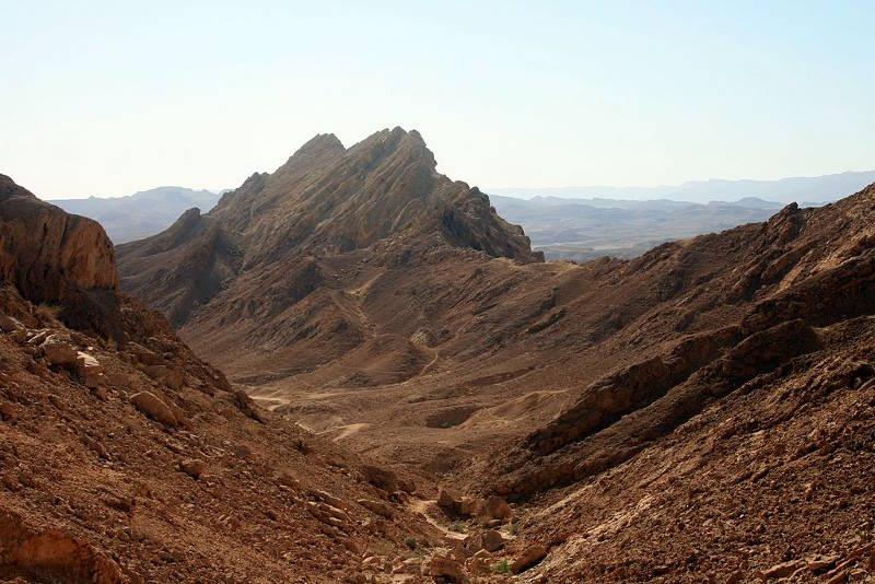 Saharonim Mountain Makhtesh Ramon, Israel