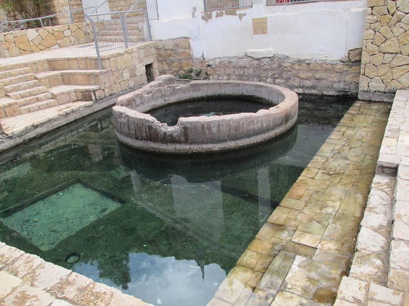 Ein Maboa in Wadi Qelt