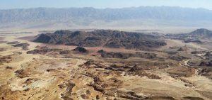 Timna Cliffs- A bird's eye View