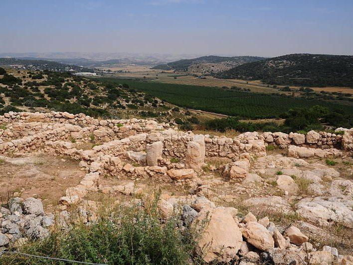 Qeiyafa Ruins - Elah Fortress