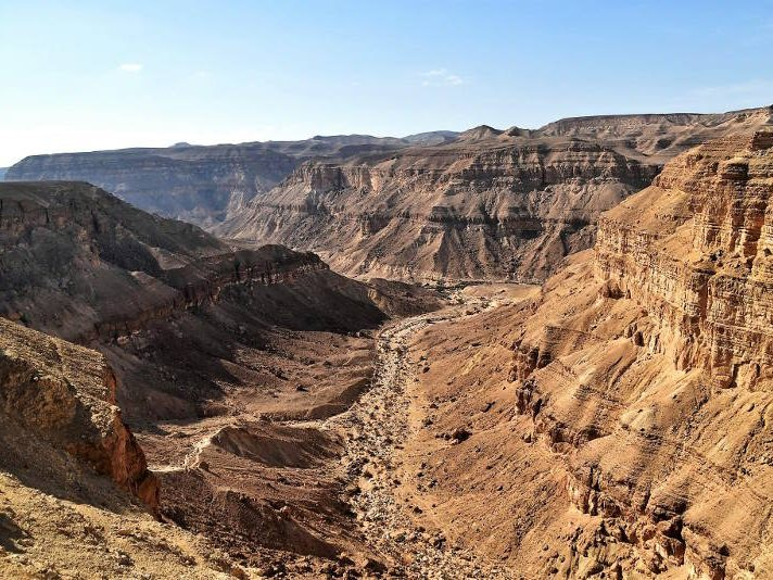 """Hatira Canyon from """"Nakeb el Yahud"""""""
