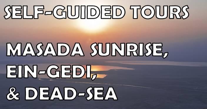 Masada Ein-Gedi Dead-Sea tours and hikes