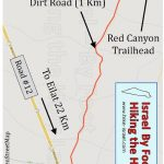 How to get to the trailhead of the red canyon