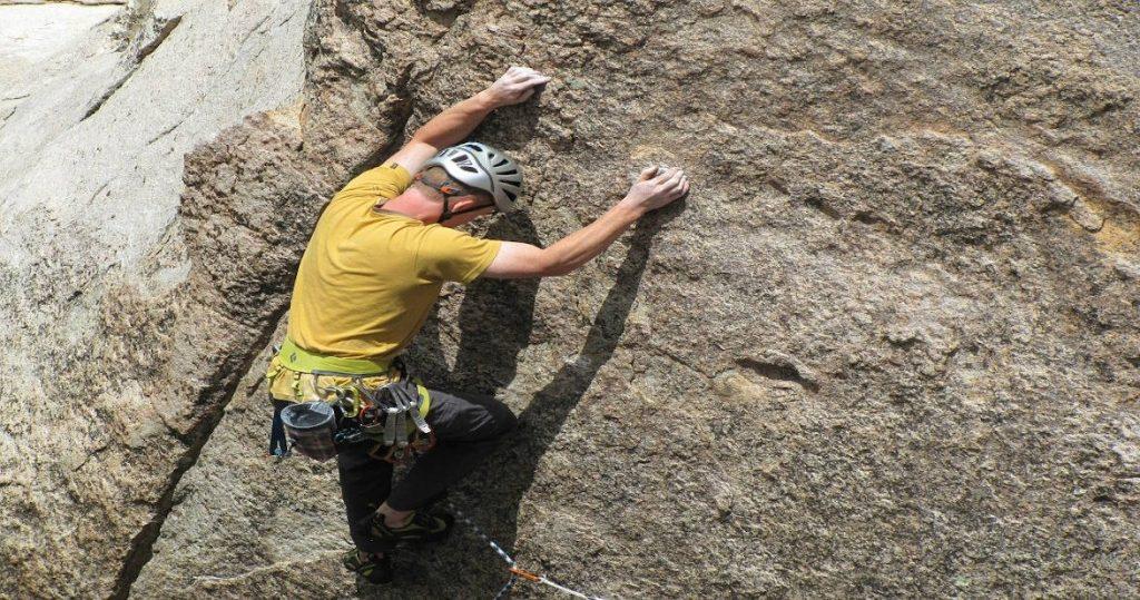 Rock Climbing in Wadi Qelt