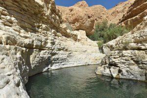 Nahal Arugot upper pools