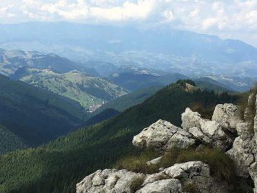 נוף בטרק ברומניה