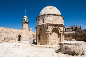 Chapel of the Ascension - Mount of Olives