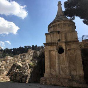 Absalom Tomb, Kidron Valley, Jerusalem
