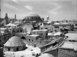 Jewish Quarter in 1937 before the destruction